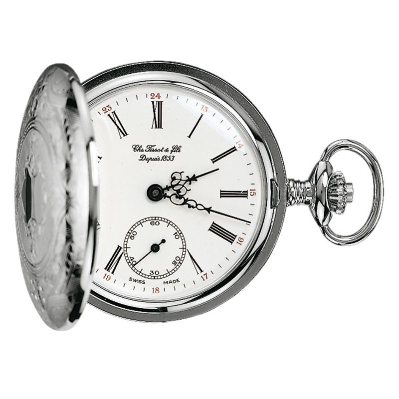 Taschenuhr Tissot Savonette Full Hunter Pocket Watch T83640113