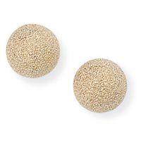 6mm matt Ball Stud Ohrringe