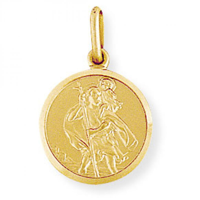 Round St. Christopher Medallion