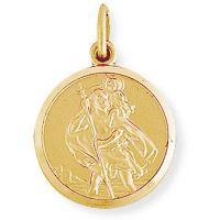 Round St. Christopher Medallion