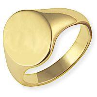 Oxford klassisch Signet Ring Größe R