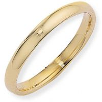 3mm Court-Shaped Band Size L