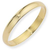 3mm D-Shaped Band Size P