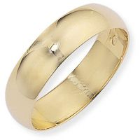 6mm Essential D-Shaped Band Size K