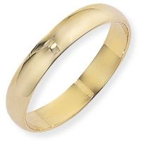 4mm Essential D-Shaped Band Size J