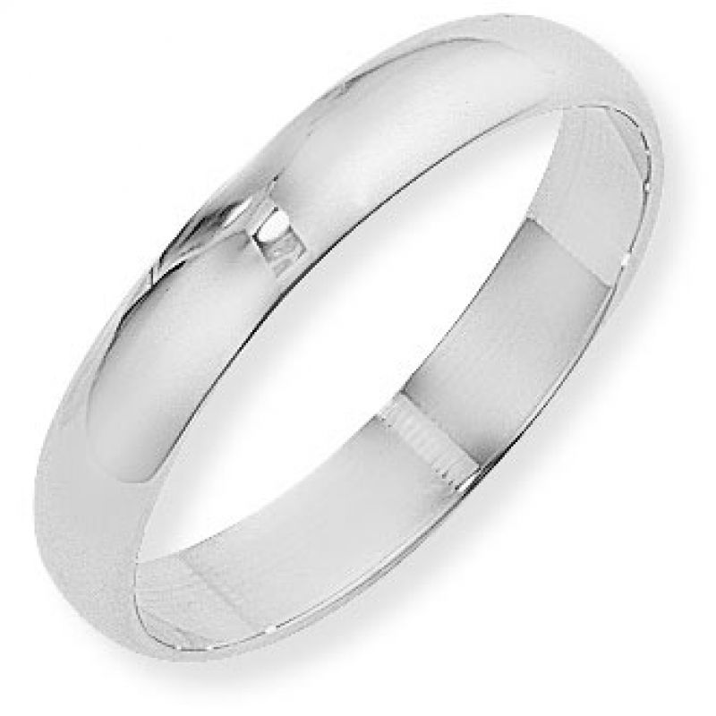 4mm D-Shaped Band Size J