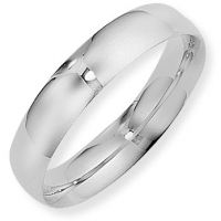 5mm Court-Shaped Band Size U