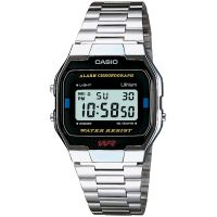 Casio Classic Leisure Herenchronograaf Zilver A163WA-1QES
