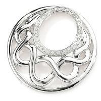 Diamant set pendant