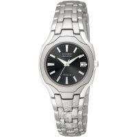 Damen Citizen Titanium Eco-Drive Watch EW1400-53H