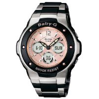 Damen Casio Baby-G Alarm Chronograph Watch MSG-300C-1BER