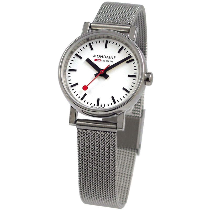 Ladies Mondaine Swiss Railways Evo Watch A6583030111SBV