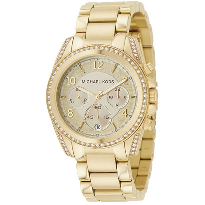 femme Michael Kors Blair Chronograph Watch MK5166