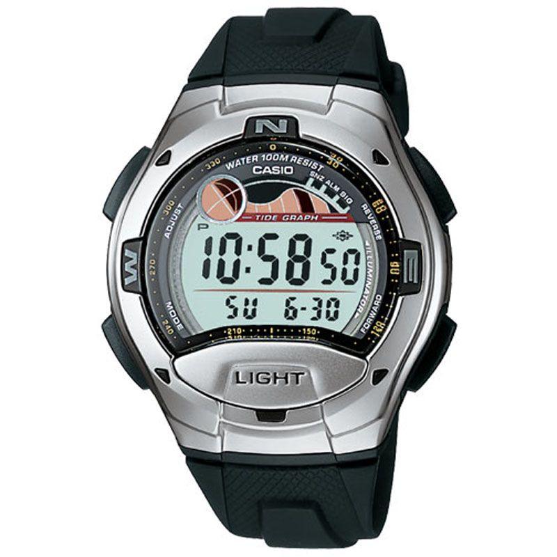 Herren Casio Sports Alarm Chronograph Watch W-753-1AVES