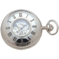 Woodford halb Hunter Skelett Tasche mechanisch Uhr