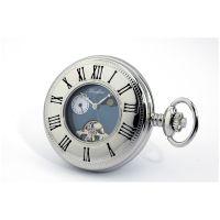 Woodford halb Hunter Tasche mechanisch Uhr