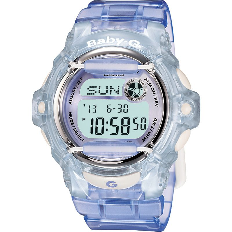 Damen Casio Baby-G Alarm Chronograph Watch BG-169R-6ER