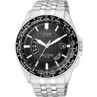 Hommes Citizen World Perpetual A-T Radio-piloté Eco-Drive Montre