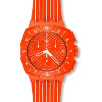 Unisexe Swatch Flash Courir Chronographe Montre