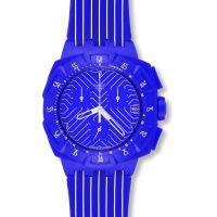 unisexe Swatch Purple Chronograph Watch SUIV401