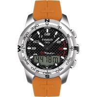 Herren Tissot T-Touch II Titan Wecker Chronograf Uhr