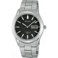 Mens Seiko Titanium Watch SGG599P1