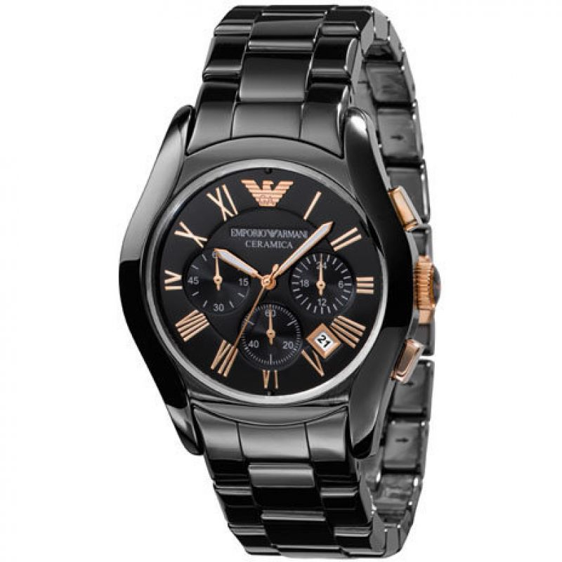 homme Emporio Armani Chronograph Watch AR1410