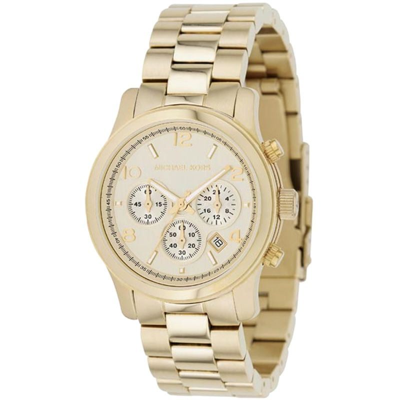 Ladies Michael Kors Runway Chronograph Watch MK5055