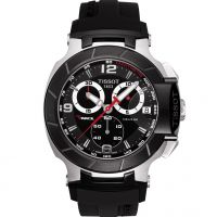 homme Tissot T-Race Chronograph Watch T0484172705700