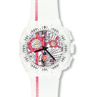 homme Swatch Street Map Flash Chronograph Watch SUIW411