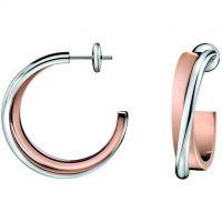 Ladies Calvin Klein PVD rose plating Earrings KJ63BE010100