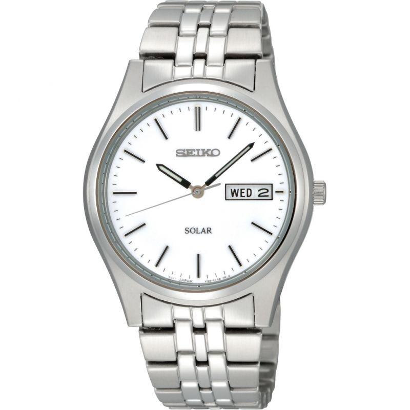 Herren Seiko Solar Powered Watch SNE031P1