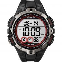 Herren Timex Indiglo Marathon Alarm Chronograph Watch T5K423