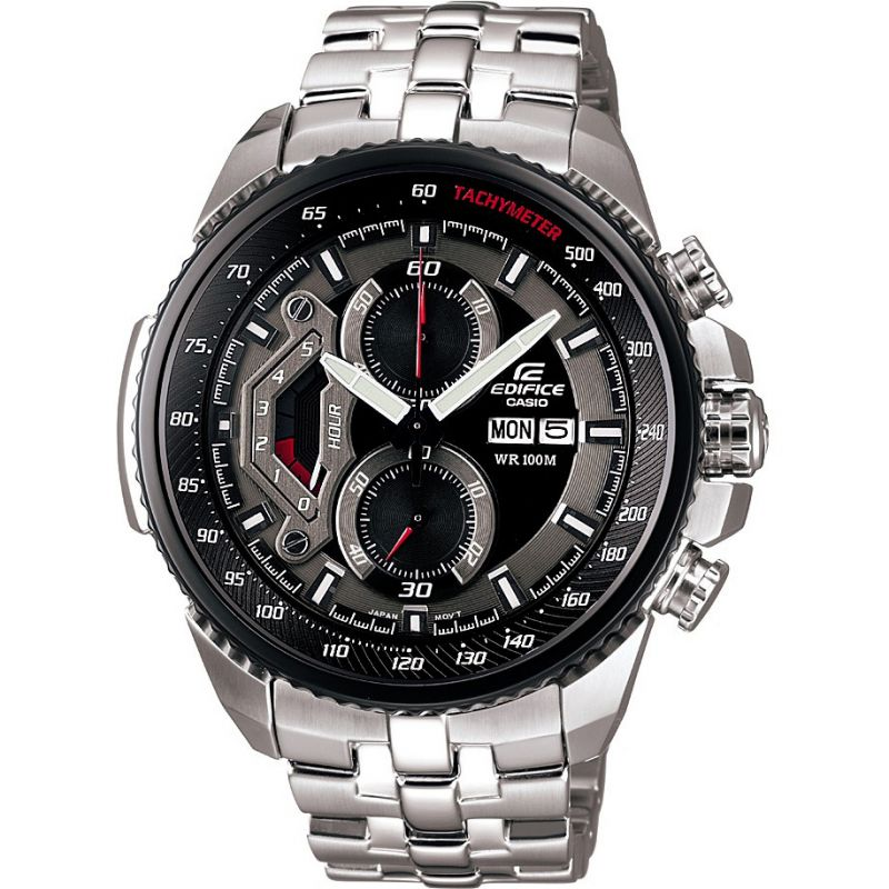 Herren Casio Edifice Chronograph Watch EF-558D-1AVEF