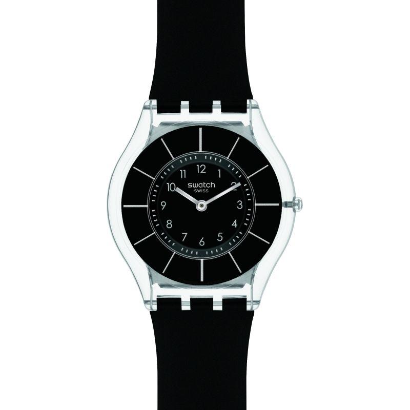 Unisex Swatch Skins Black Classiness Watch SFK361