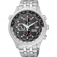 Mens Citizen Red Arrows World Time Chronograph Eco-Drive Watch