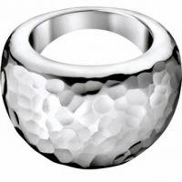 Ladies Calvin Klein Stainless Steel Dawn Ring Size N.5 KJ68AR010107