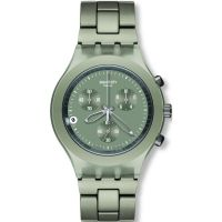 Mens Swatch Smoky Sand Chronograph Watch
