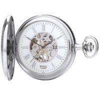 Royal London halb Hunter Tasche mechanisch Uhr