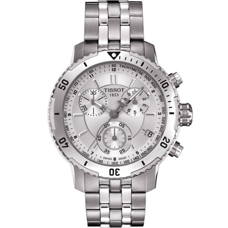 homme Tissot PRS200 Chronograph Watch T0674171103101