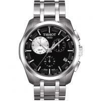 homme Tissot Couturier GMT Chronograph Watch T0354391105100
