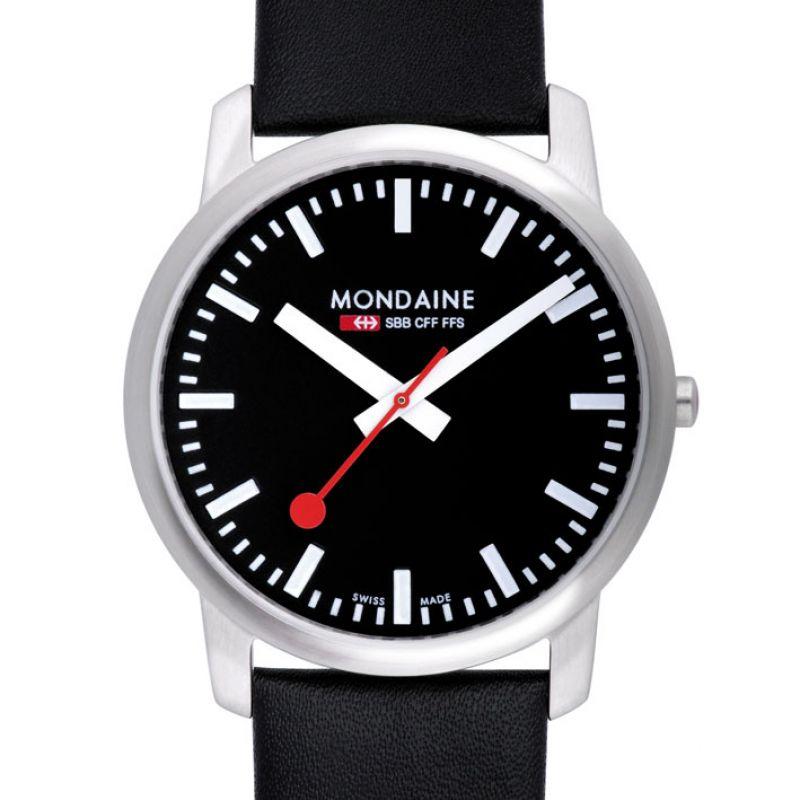 Herren Mondaine Swiss Railways Watch A6383035014SBB