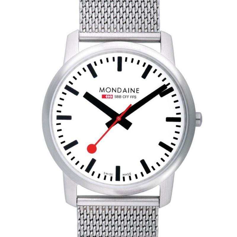 Herren Mondaine Swiss Railways Simply Elegant Watch A6383035016SBM