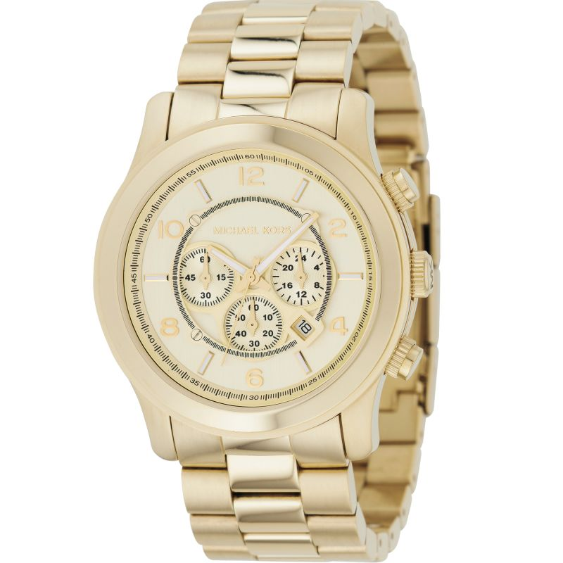 Herren Michael Kors Runway Chronograph Watch MK8077
