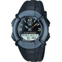 Herren Casio schwer Duty Kombination Wecker Chronograf Uhr
