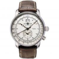 Herren Zeppelin 100 Jahre dual Zeit Uhr