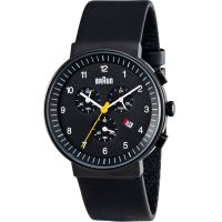 Mens Braun BN0035 Classic Chronograph Watch BN0035BKBKG