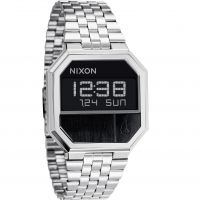 Nixon The Re-Run Unisexkronograf Silver A158-000