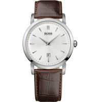 Mens Hugo Boss Slim Ultra Round Watch