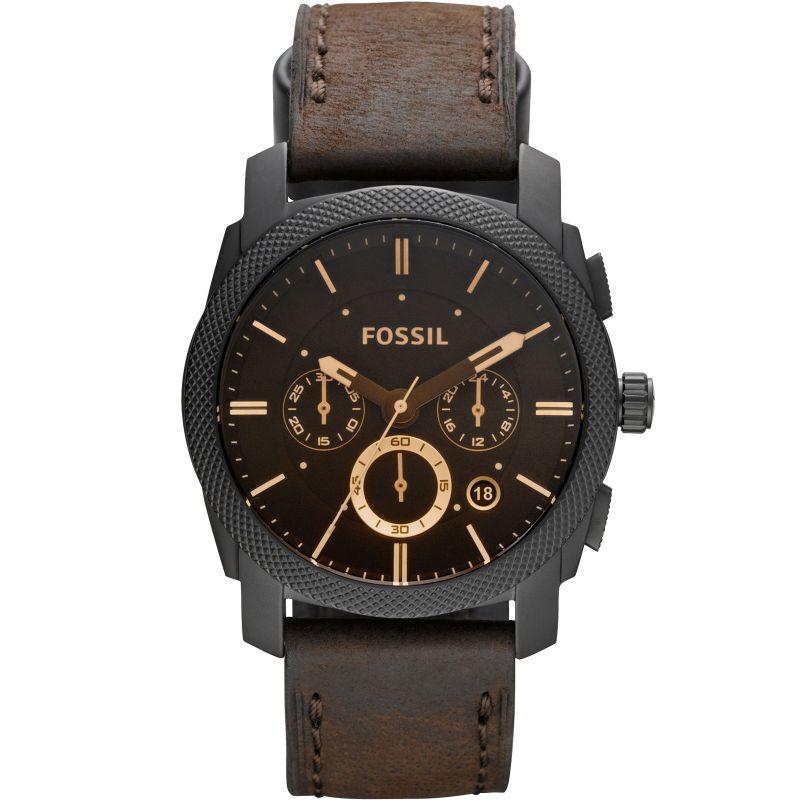 homme Fossil Machine Chronograph Watch FS4656
